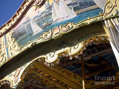Shark Art - Carousel Dreams by Brenda Kean