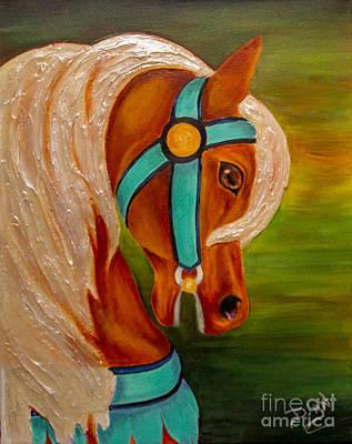 Carousel Horse Fantasy Original
