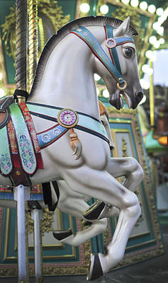 Photograph - Carousel Horse Historic Smithville Nj by Terry DeLuco