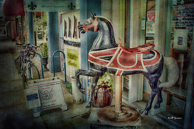 Photograph - Carousel Hourse by Jeff Swanson