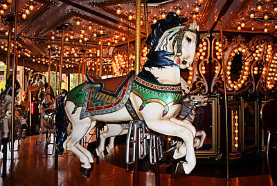 Photograph - Carousel by Kristin Elmquist