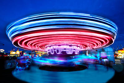 Photograph - Carousel by Mark Andrew Thomas