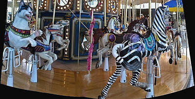Photograph - Carousel Panorama by Bill Owen