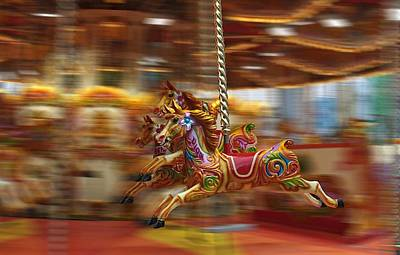 Photograph - Carousel by Peter Skelton