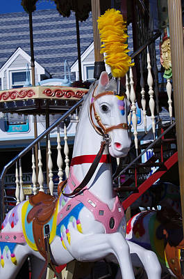 Photograph - Carousel Steed by Greg Graham