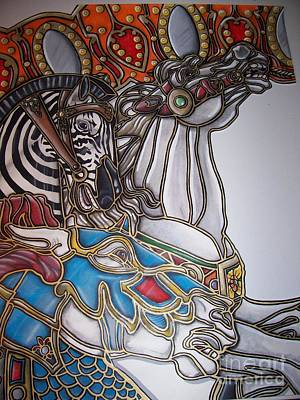 Carousel Two Original by Jerry Foxworth