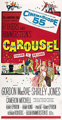 Carousel, Us Poster Art, 1956 Art Print by Everett