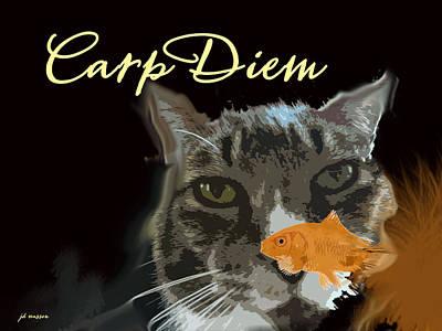 Photograph - Carp Diem by Jacqueline  DiAnne Wasson