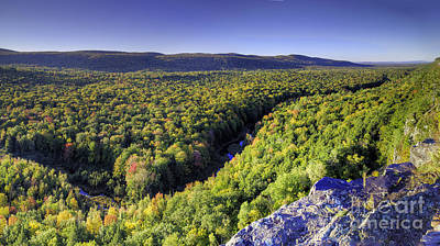 Carp Photograph - Carp River In The Porcupine Mountains by Twenty Two North Photography