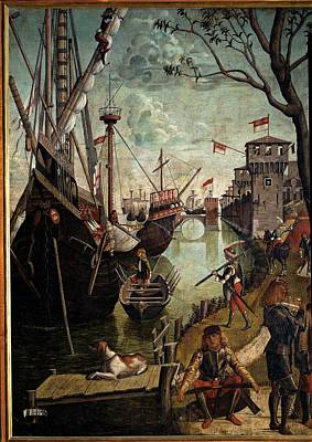 Carpaccio Vittore, Legend Of St Ursula Art Print
