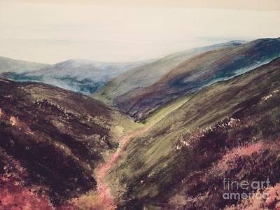 Carpathian Valleys Art Print