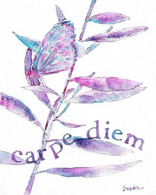 Painting - Carpe Diem by Sandra Neumann Wilderman