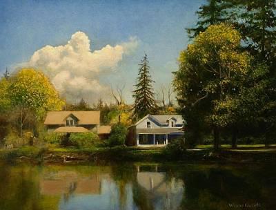Painting - Carpenter's Pond by Wayne Daniels