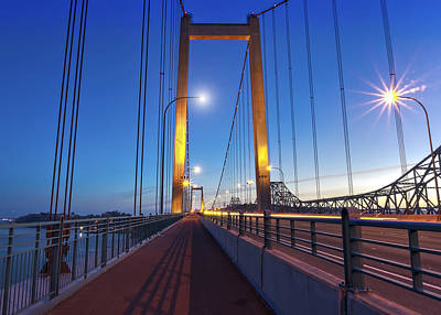 Photograph - Carquinez Bridge II by Phil Clark
