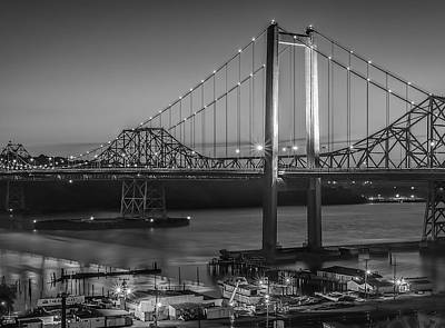 Photograph - Carquinez Bridge by Phil Clark
