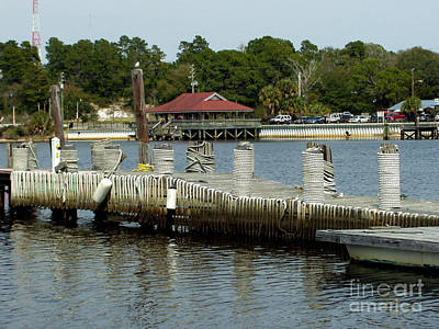 Photograph - Carrabelle Waterfront by Audrey Peaty