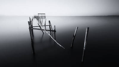Portugal Photograph - Carrasqueira In Black And White by Iv?n Ferrero