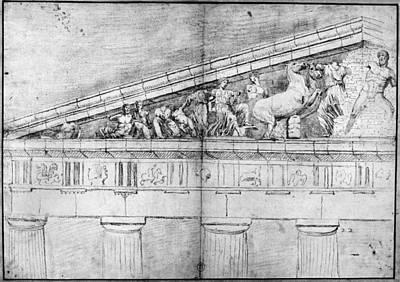 Carrey Parthenon, 1674 Art Print by Granger
