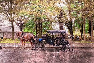 Photograph - Carriage Rides Series 03 by Carlos Diaz