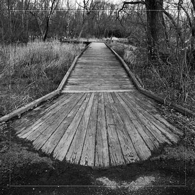 Carriage Hill Boardwalk A Art Print