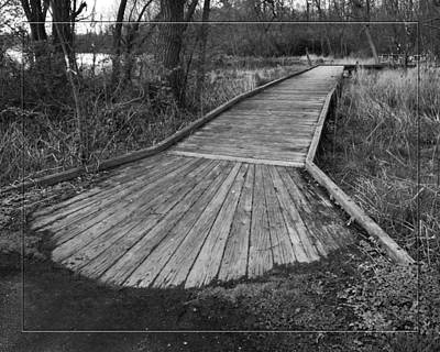 Carriage Hill Boardwalk B Art Print
