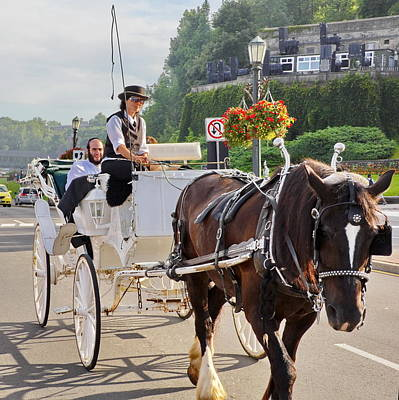 Photograph - Carriage Ride Down River Road by Simply  Photos