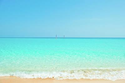 Photograph - Carribean Sea by Artmarie