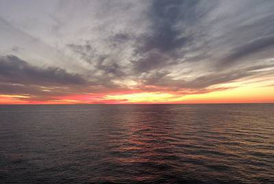 Sunset Photograph - Caribbean Sunset by Paul Smith