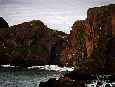 Photograph - Carrick-a-rede Bridge I by Patricia Griffin Brett