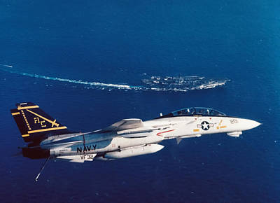 Jets Photograph - Carrier Approach  by Peter Chilelli