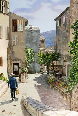 Painting - Carriero Du Pourtegue by Dominique Amendola