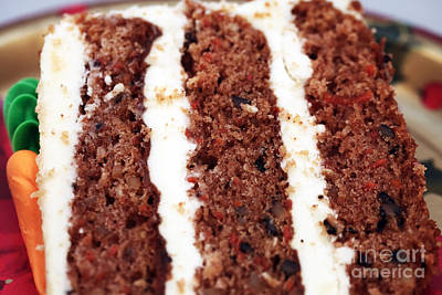 Photograph - Carrot Cake by John Rizzuto