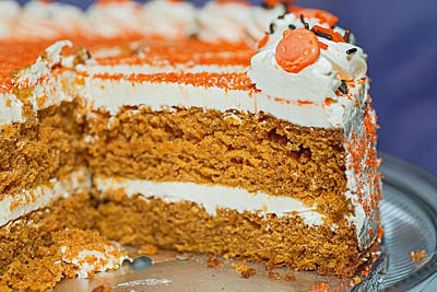 Photograph - Carrot Cake by Marek Poplawski