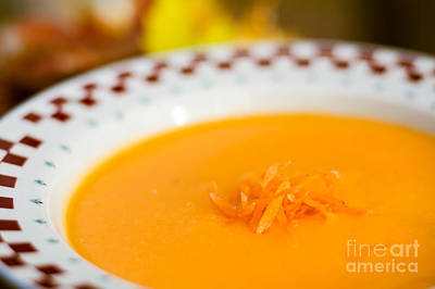 Photograph - Carrot Soup by Cheryl Baxter