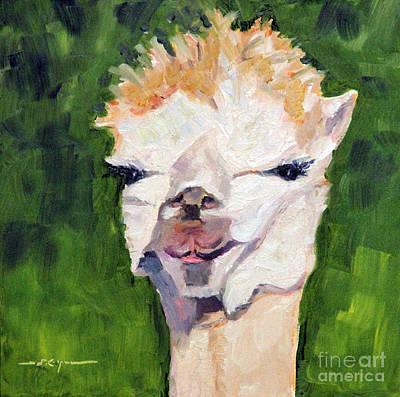 Movies Star Paintings - Carrot Top by Rochelle Koopmann