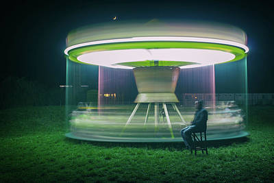 Spinning Photograph - Carrousel by