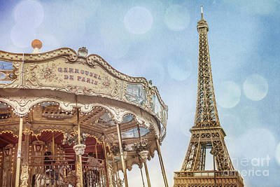 Photograph - Carrousel De Paris by Stacey Granger