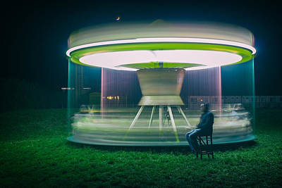 Spinning Photograph - Carrousel by Djaniru