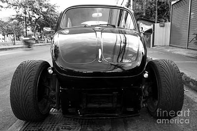 Photograph - Cars - Hotrod Beetle by Dean Harte