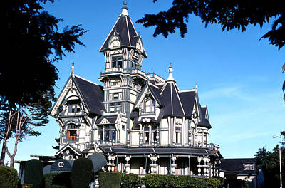 Photograph - Carson Mansion Cu by Robert  Rodvik