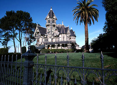 Photograph - Carson Mansion by Robert  Rodvik