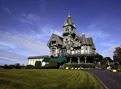 Carson Mansion Photograph - Carson Mansion by Russell Shively