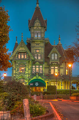 Carson Mansion Photograph - Carson Mansion by Tom Barrett