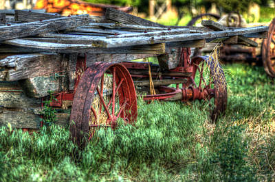 Photograph - Cart by Craig Incardone