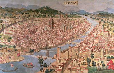 Carta Della Catena Art Print