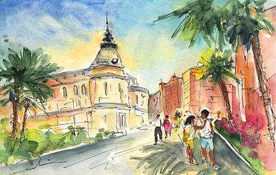 Architecture Drawing - Cartagena 01 by Miki De Goodaboom