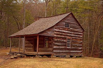 Carter Shields Cabin 3 Print by Wild Expressions Photography