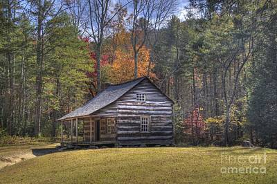 Photograph - Carter-shields Cabin by Crystal Nederman
