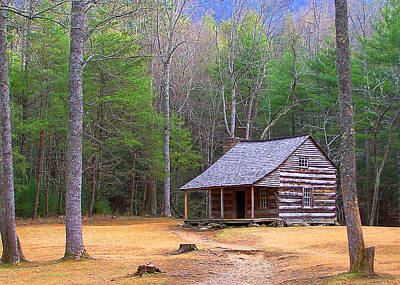 Carter Shield's Cabin II Art Print by Jim Finch