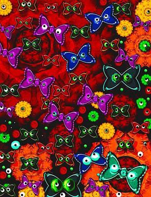 Cartoon In Happy Style Pop Art Art Print by Pepita Selles